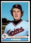1979 Topps #162  Tom Johnson  Front Thumbnail