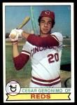 1979 Topps #220  Cesar Geronimo  Front Thumbnail