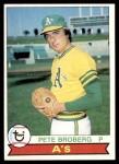 1979 Topps #578  Pete Broberg  Front Thumbnail