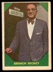 1960 Fleer #55  Branch Rickey  Front Thumbnail