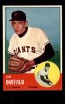 1963 Topps #567 ^COR^ Jim Duffalo  Front Thumbnail