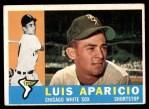 1960 Topps #240  Luis Aparicio  Front Thumbnail