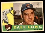 1960 Topps #375  Dale Long  Front Thumbnail