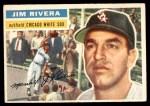 1956 Topps #70  Jim Rivera  Front Thumbnail