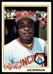1978 Topps #300  Joe Morgan  Front Thumbnail