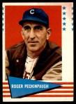 1961 Fleer #132  Roger Peckinpaugh  Front Thumbnail