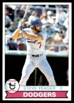 1979 Topps #75  Steve Yeager  Front Thumbnail