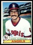 1979 Topps #503  Terry Humphrey  Front Thumbnail