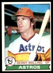 1979 Topps #553  Denny Walling  Front Thumbnail