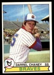 1979 Topps #184  Darrel Chaney  Front Thumbnail