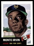 1991 Topps 1953 Archives #62  Monte Irvin  Front Thumbnail
