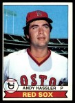 1979 Topps #696  Andy Hassler  Front Thumbnail
