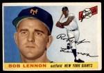 1955 Topps #119  Bob Lennon  Front Thumbnail