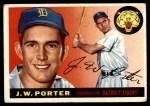 1955 Topps #49  J.W. Porter  Front Thumbnail