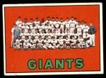1967 Topps #516   Giants Team Front Thumbnail