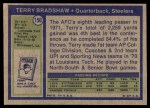 1972 Topps #150  Terry Bradshaw  Back Thumbnail