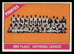 1966 Topps #404 ^DOT^  Pirates Team Front Thumbnail