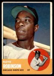 1963 Topps #405  Floyd Robinson  Front Thumbnail