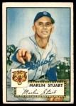 1952 Topps #208  Marlin Stuart  Front Thumbnail