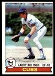 1979 Topps #433  Larry Biittner  Front Thumbnail