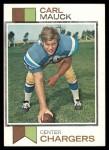 1973 Topps #92  Carl Mauck  Front Thumbnail
