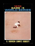 1971 Topps #331   -  Brooks Robinson 1970 World Series - Game #5 - B. Robinson Commits Robbery Front Thumbnail