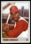 1966 Topps #266  Pedro Gonzalez  Front Thumbnail