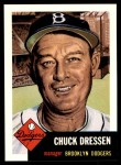 1991 Topps 1953 Archives #50  Chuck Dressen  Front Thumbnail