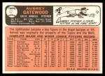 1966 Topps #42  Aubrey Gatewood  Back Thumbnail