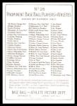 1911 T3 Turkey Red Reprint #26  John McGraw  Back Thumbnail