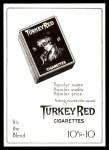 1911 T3 Turkey Red Reprint #106  Bris Lord  Back Thumbnail