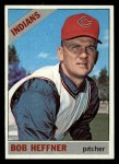 1966 Topps #432 PUR Bob Heffner  Front Thumbnail