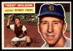 1956 Topps #92  Red Wilson  Front Thumbnail