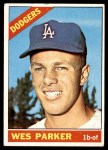1966 Topps #134  Wes Parker  Front Thumbnail