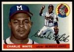 1955 Topps #103  Charlie White  Front Thumbnail