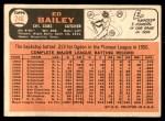1966 Topps #246  Ed Bailey  Back Thumbnail