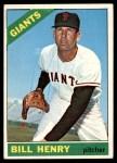 1966 Topps #115  Bill Henry  Front Thumbnail