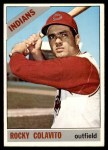 1966 Topps #150  Rocky Colavito  Front Thumbnail