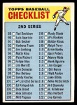 1966 Topps #101 HEN  Checklist 2 Front Thumbnail