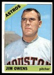 1966 Topps #297  Jim Owens  Front Thumbnail