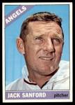 1966 Topps #23  Jack Sanford  Front Thumbnail