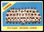 1966 Topps #379   Cardinals Team Front Thumbnail