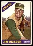 1966 Topps #201  Jim Dickson  Front Thumbnail
