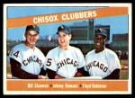 1966 Topps #199   -  Johnny Romano / Floyd Robinson / Bill Skowron ChiSox Sluggers Front Thumbnail
