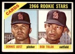 1966 Topps #179   -  Bobby Tolan / Dennis Aust Cardinals Rookies Front Thumbnail