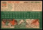 1954 Topps #158  Peanuts Lowrey  Back Thumbnail