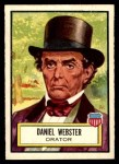 1952 Topps Look 'N See #22  Daniel Webster  Front Thumbnail