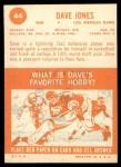 1963 Topps #44  Deacon  Jones  Back Thumbnail