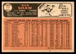 1966 Topps #260  Bob Shaw  Back Thumbnail