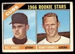 1966 Topps #392   -  Randy Hundley / Bill Hands Cubs Rookies Front Thumbnail